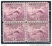 United States, 1933, MNH