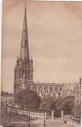 BRISTOL  - ST. MARY REDCLIFFE CHURC   VG    AUTENTICA 100% - Bristol
