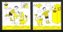 Allemagne Deutschland 2422/23 Boîte Aux Lettres , Chat
