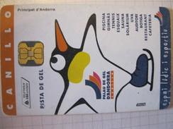 Télécarte D'Andorre - Andorra