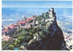Repubblica Di San Marino - Lotto 3 Fotografie: PANORAMA E 1° TORRE, PALAZZO DEL GOVERNO, 2° TORRE - PERFETTA N36 - Riproduzioni
