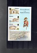 GIBRALTAR BLOC 7** SUR LA FORTERESSE DE GIBRALTAR - Gibraltar