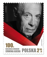 Poland 02.01.2017 MNH ** - 100. Anniversary Of Births Of Erwin Axer, Theatre
