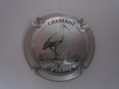 Capsule Crémant D'Alsace Cigogne Animaux Animal - Other