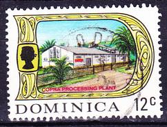 Dominica - Kopra-Herstellung (MiNr: 276) 1969 - Gest Used Obl - Dominica (...-1978)