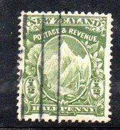 Y1935 - NEW ZELAND NUOVA ZELANDA  1907 , Gibbons N. 383 Usato . Dent 14x15 - 1855-1907 Colonia Britannica