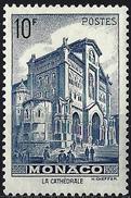 Monaco 1943 - Cathedral Of Monaco ( Mi 242 - YT 261 ) MLH*