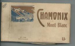 Haute Savoie ,Chamonix Carnet De 40 CPA - Chamonix-Mont-Blanc