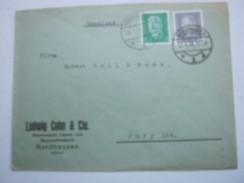 1931 , Nordhausen , Klarer Stempel Auf Firmenbrief , Judaika