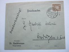 1925 , Tangermünde  , Klarer Stempel Auf Firmenbrief