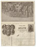 CARTE LETTRE BELFORT - GENERAUX JOFFRE, CASTELNAU, FOCHE, MAUD'HUY… - Patriotic