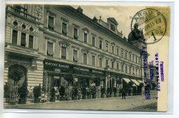 "ROUMANIE HONGRIE ARAD DEvanture Commerce "" Matzky KAROLY "" écrite D' AMARAD  1915  Timb  /D03-S2017 - Romania"