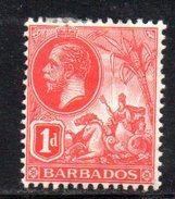 Y1972 - BARBADOS 1916 , 1penny  Fil Multi CA * - Barbados (...-1966)