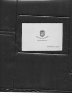 Ceci Est Une Carte De Visite ...la Couleur Originale Est Verte..pb.de Scan...HOSTAL DE L ISARD   ANDORRA LA VELLA - Cartes De Visite