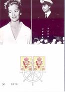 BELGIQUE  MAXIMUN ALBERT PAOLA  1958  (FEB170194) - Personaggi Famosi