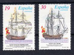 ESPAÑA 1995.  EDIFIL Nº 3352/3353SH BARCOS ESPAÑOLES   .NUEVO  SIN CHARNELA    SES472GRANDE - 1931-Hoy: 2ª República - ... Juan Carlos I