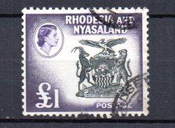 Sello Nº 32 Rhodesie-nyassaland. - Rodesia & Nyasaland (1954-1963)
