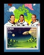Ajman / Adschman: 'Apollo-7 In Space - Imperforated, 1968', Mi. BL 67 A **
