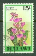 Malawi: 1979/82   Orchids   SG583    15t    Used