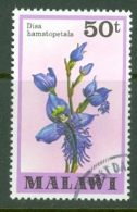 Malawi: 1979/82   Orchids   SG586    50t    Used