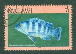 Malawi: 1984   Fishes   SG691    7t    Used - Malawi (1964-...)