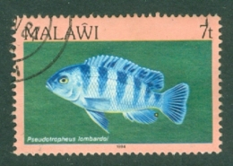 Malawi: 1984   Fishes   SG691    7t    Used