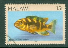 Malawi: 1984   Fishes   SG694    15t    Used - Malawi (1964-...)