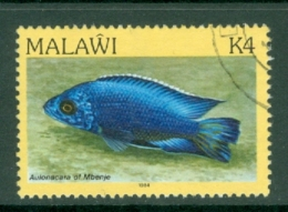 Malawi: 1984   Fishes   SG702    K4    Used