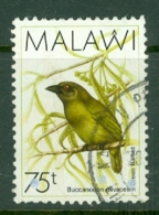 Malawi: 1988/95   Birds   SG800    75t    Used