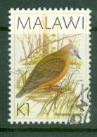 Malawi: 1988/95   Birds   SG801    K1    Used