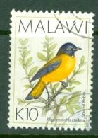 Malawi: 1988/95   Birds   SG804a    10K   [Starred Robin] Used