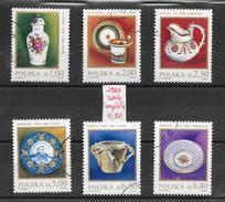 Art Porcelaine - Pologne N°2556 à 2561 1981 O