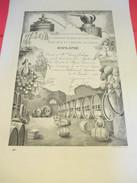 Diplôme/Conféd. Nat. Du Commerce En Gros Des Vins Cidres Spiritueux Et Liqueurs De France/LELONG/Cusenier/1962 DIP188 - Diplomi E Pagelle