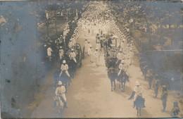 G47 - Photographie - Indochine - Enterrement Militaire De Deux Soldats - Le Cortège - Antiche (ante 1900)
