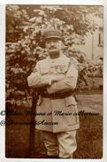 CAPITAINE DU 4 EME REGIMENT D ARTILLERIE - LEGION D HONNEUR CROIX DE GUERRE 1 PALME 2 ETOILES - CARTE PHOTO MILITAIRE - Guerre 1914-18