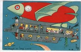 (16)  CPA  Un Voyage Au Long Cours   (bon Etat) - Dirigeables