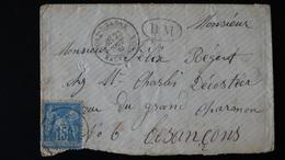 France - Enveloppe - 15c Type Sage N° 90  - Année 1884 - 1877-1920: Semi Modern Period