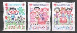 Hungary 1979 Mi 3335-3337 MNH CHILDREN