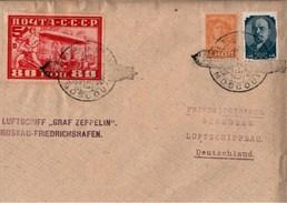 ! 1930, LZ 127 Luftschiff Graf Zeppelin, Landungsfahrt Nach Rußland, Moskau, Moscou, Friedrichshafen
