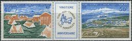 TAAF 1971. Michel #65/66 MNH/Luxe. 20 Years Old Port-aux-Français On The Kerguelen Island. (Ts48)