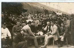 (16)  CPA Photo Prisonniers De Guerre Camp De Konigsbruck   (bon Etat) - Guerra 1914-18