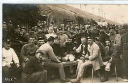 (16)  CPA Photo Prisonniers De Guerre Camp De Konigsbruck   (bon Etat) - War 1914-18