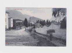 ARCO D'EPOCA DETTAGLI VIALE DELLA FOSSA BELLA VEDUTA CON PERSONAGGIO FTO PICCOLO - Trento