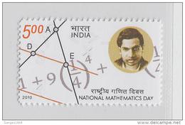 India  2012  Indian Mathematics Day  # 56211 S  Inde Indien