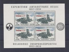 BELGIE -BELGIQUE  BLOK 31 Postfris - Neuf Sans Charniere -  Belgische Zuidpoolexpeditie 1957