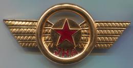 Army, Military - JNA, Yugoslavia, Military Police, Breast Insignia, Enamel, Vintage Pin, Badge, Abzeichen, 90x40mm - Militaria
