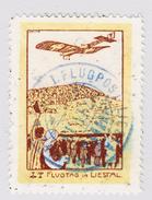 Schweiz 1913 Flugpost Vorläufer Liestal Entwertet Mit Offiziellen Hellblauen Poststempel - Attest Rellstab - Poste Aérienne
