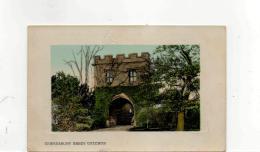 Postcard - Tewkesbury Abbey Gateway Very Good - Postales