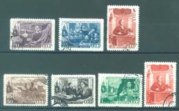 URSS - 1949 USED/OBLIT. - Mi 1318-1324 Yv 1311-1317 -  Lot 15219