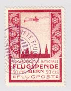Schweiz 1913 Flugpost Vorläufer III BERN Entwertet 30.3.1913 - Poste Aérienne